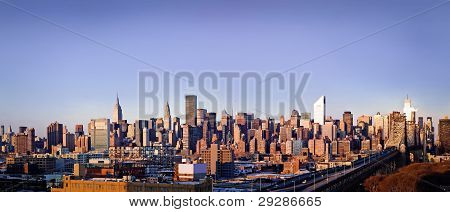 New-York city panorama