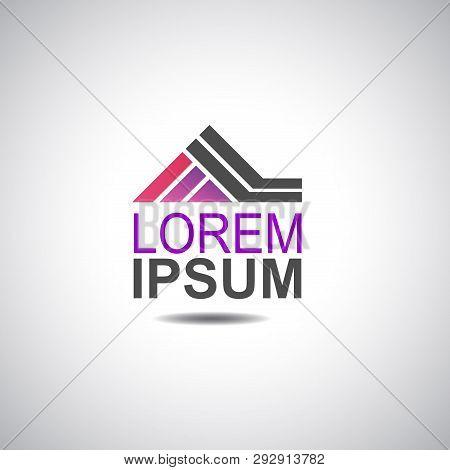 House Logo For Company Vector Image Design
