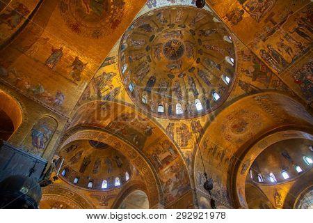 VENICE - OCTOBER 14: Interior of the