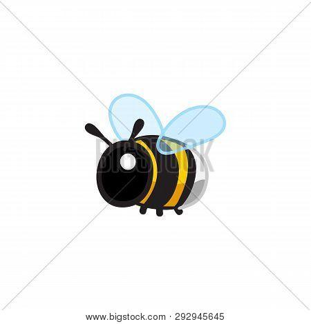 Vector Cute Cartoon Insect Clip Art Bumblebee