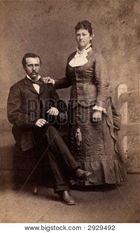 Vintage Family Photo 1881