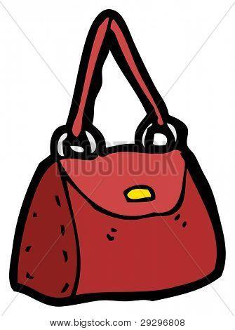 handbag cartoon (raster version)