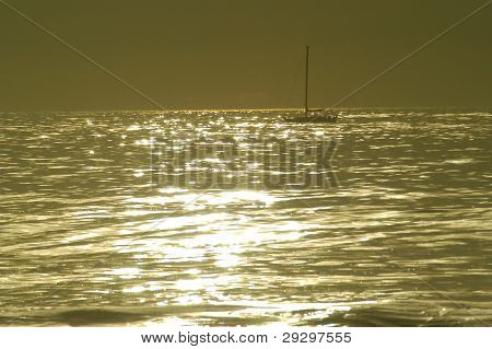 Yacht Silhouette