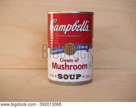 Camden - Oct 2020: Campbell's Can Of Mushroom Soup