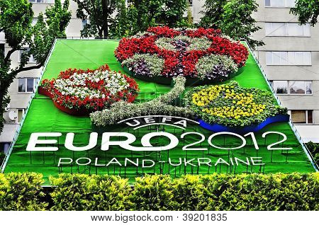 Emblem Of The Euro-2012