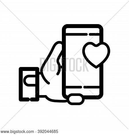 Social Media Icon Isolated On White Background From Friendship Collection. Social Media Icon Trendy