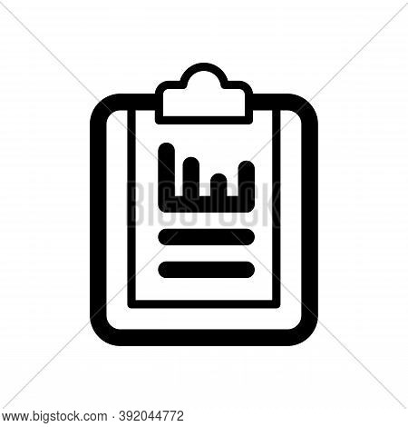 Report Icon Isolated On White Background From Customer Service Collection. Report Icon Trendy And Mo