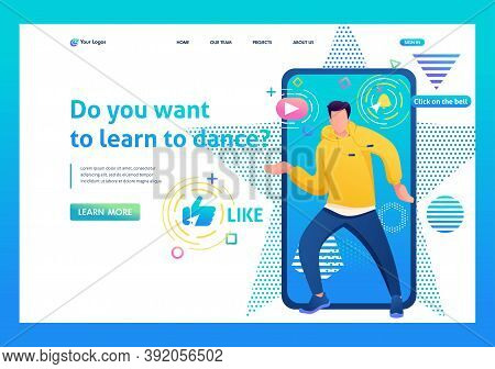 Channel About The Dance Of A Young Guy, Tectonics, Freestyle,  Landing Page For Dance Training. Subs