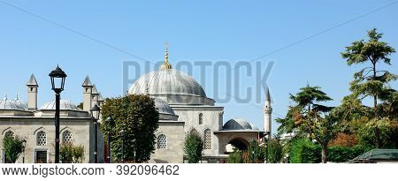 View Of The Sultanahmet Madrasah And Mausoleum Of Sultan Ahmed I. Sultanahmet Neighbourhood, City Of