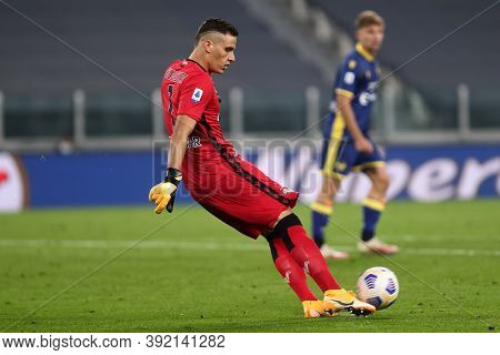 Torino, Italy. 25th October 2020. Marco Silvestri Of Hellas Verona Fc In Action During The Serie A M