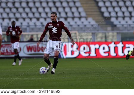 Torino, 28th October 2020. Lyanco Of Torino Fc In Action   During The Coppa Italia Match  Between To