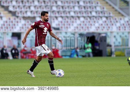 Torino, 28th October 2020. Tomas Rincon  Of Torino Fc In Action   During The Coppa Italia Match  Bet