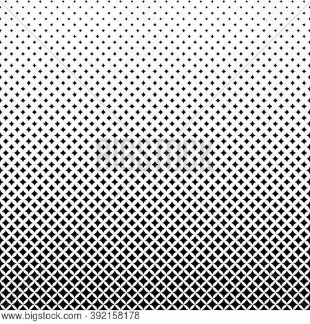 Abstract halftone background. Geometric black and white pattern.
