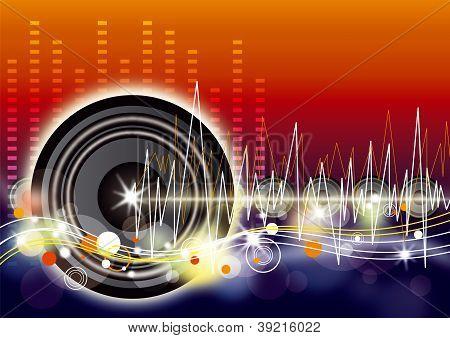 Music background design