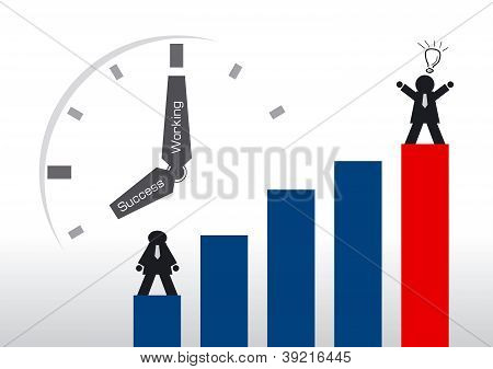 Businessman And Time