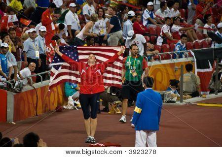 Stephanie Trafton Brown Victory Lap