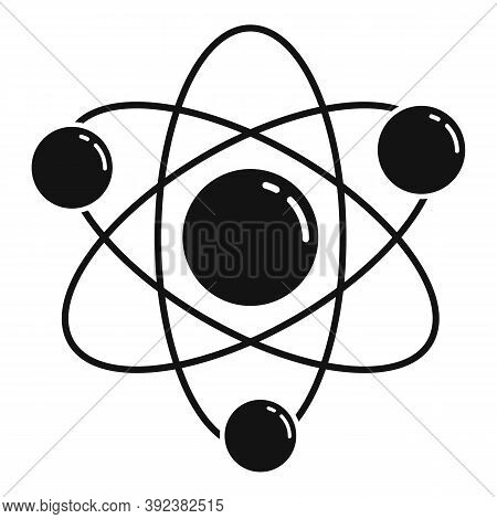 Science Gravity Icon. Simple Illustration Of Science Gravity Vector Icon For Web Design Isolated On
