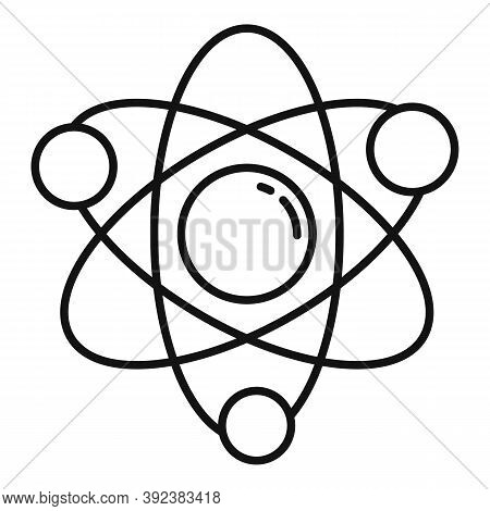 Science Gravity Icon. Outline Science Gravity Vector Icon For Web Design Isolated On White Backgroun