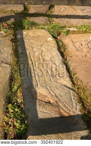 The Gravestone Of Rob Roy Mcgregor At Balquhidder, Scotland