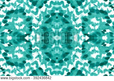Seamless Predator Pattern. Serpent Leather Animal Print. Trendy Jungle Background. Blue And White Co
