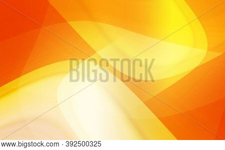 Red abstract curves background with abstract geometric shapes. Red background with modern shapes for flyers banners design. Bright yellow abstract background with space for text