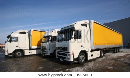 Three Trucks