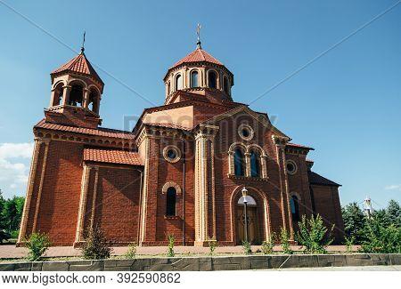 Odessa, Ukraine - July 5, 2014: The Armenian Apostolic Church In Odessa, Ukraine. The National Churc