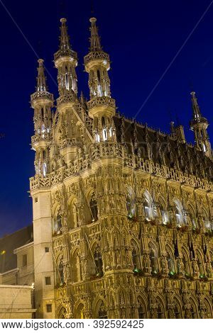 The Old City Hall Building Of Leuven, Belgium