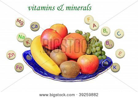 Vitamines and minerals
