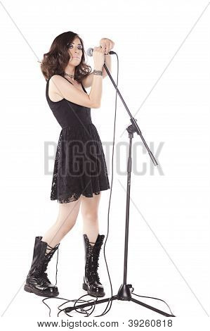 Rock Girl Singing