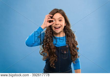 Healthy Happy Kid Eating Pill. Vitamins And Supplements. Diet Nutrition Concept. Child Girl Take Med