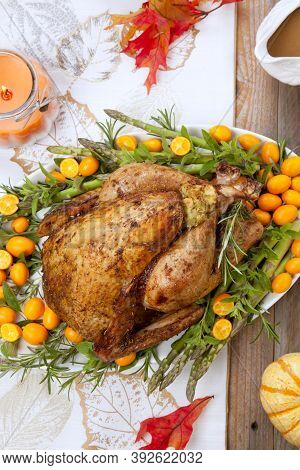 Citrus Glazed Thanksgiving Turkey
