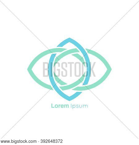 Concept Association, Alliance, Unity, Teamwork Abstract Vector Logo Design Template