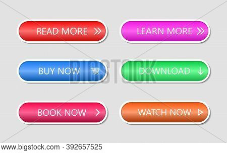 Button For Web Action. Icon For Call To Shop, Game, Read More. Banners For Click In App. Menu For In