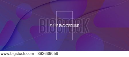 Red Dynamic Abstract. Flow Shapes Poster. 3d Wallpaper. Curve Technology Elements. Geometric Modern