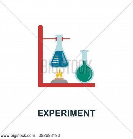 Experiment Icon. Simple Element From Creativity Collection. Creative Experiment Icon For Web Design,