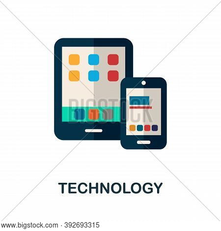 Technology Icon. Simple Element From Creativity Collection. Creative Technology Icon For Web Design,