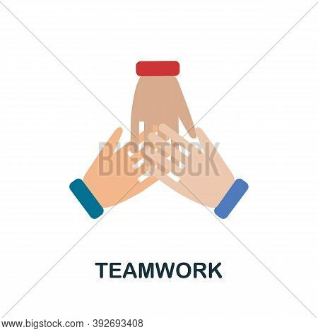 Teamwork Icon. Simple Element From Creativity Collection. Creative Teamwork Icon For Web Design, Tem