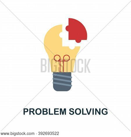 Problem Solving Icon. Simple Element From Creativity Collection. Creative Problem Solving Icon For W