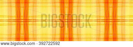 Autumn Tartan Background. Watercolour Plaid Textile. Irish Geometric Squares For Shirt Print. Seamle