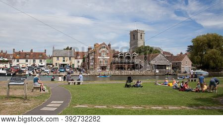 Views Of The River Frome In Wareham In Dorset In The Uk, Taken On The 23rd July 2020