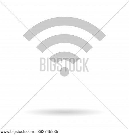 Wi-fi Internet Symbol, Wifi Free Signal Vector Illustration, Wireless Mobile Icon, Wi Fi Free