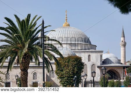 View Of The Mausoleum Of Sultan Ahmed I And Sultanahmet Madrasah. Sultanahmet Neighbourhood, City Of