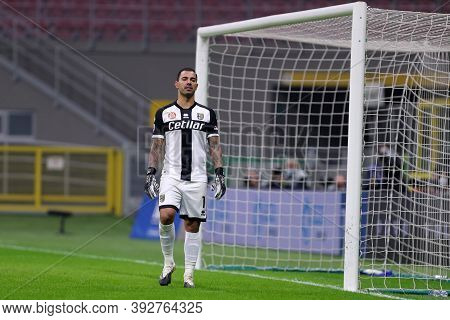 Torino, Italy. 31th November 2020. Luigi Sepe Of Parma Calcio   During The Serie A Match Between Fc