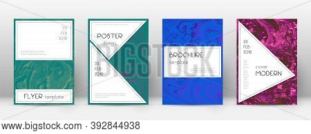 Abstract Cover. Ecstatic Design Template. Suminagashi Marble Stylish Poster. Ecstatic Trendy Abstrac