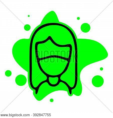 Face Mask Icon Isolated On White Background From Collection. Face Mask Icon Trendy And Modern Face M