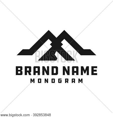 Logo Design Modern Monogram Logo Letter Ma