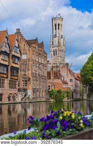 Brugge cityscape - Belgium - architecture background