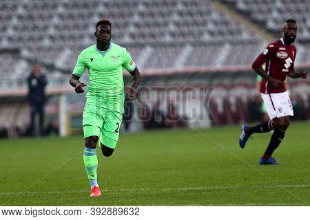 Torino, Italy. 1st November 2020. Felipe Caicedo Of Ss Lazio   During The Serie A Match Between Tori