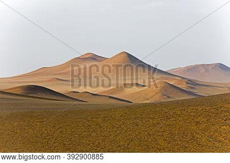 Landscape In Paracas National Park, Peru Landscape In Paracas National Park, Peru